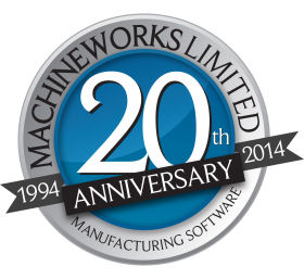 MachineWorks Manufacturing Software; Celebrating 20 Years of Development